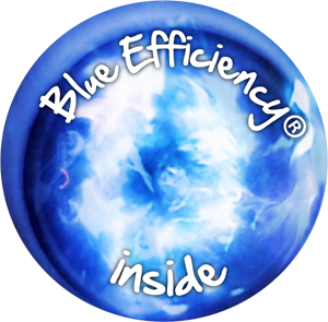blue Efficiency inside